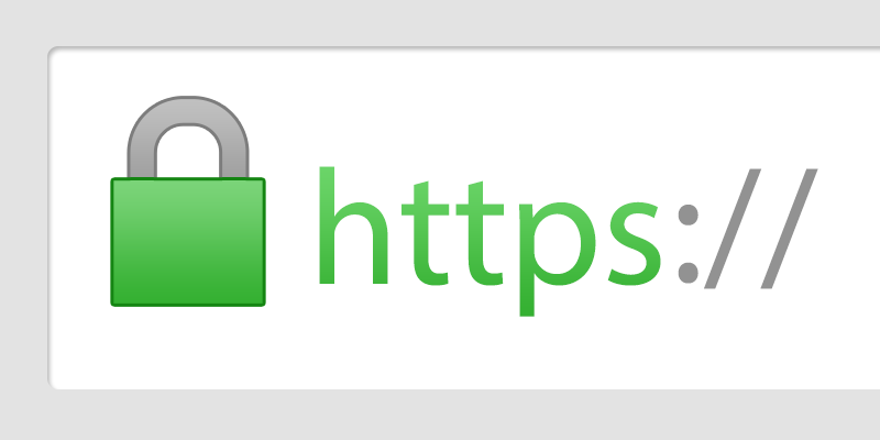 https with lock icon