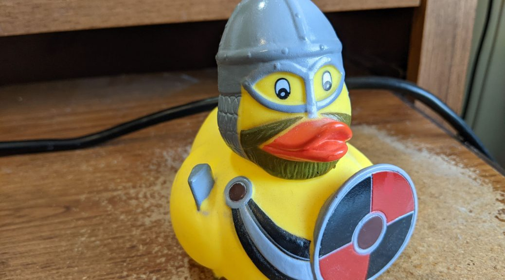 picture of a rubber duck